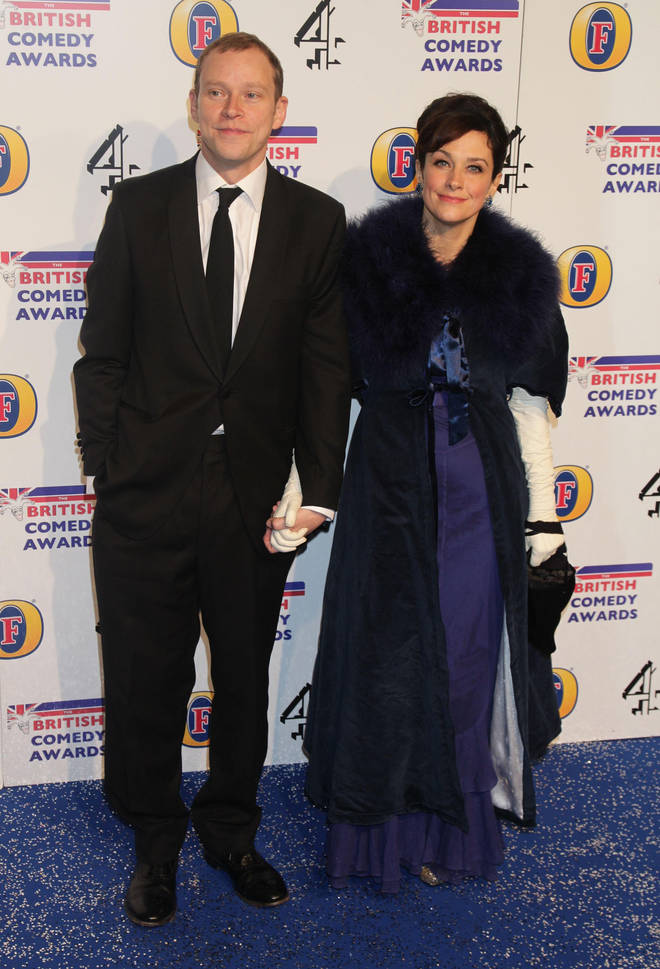 Robert Webb has been married to Abigail since 2006