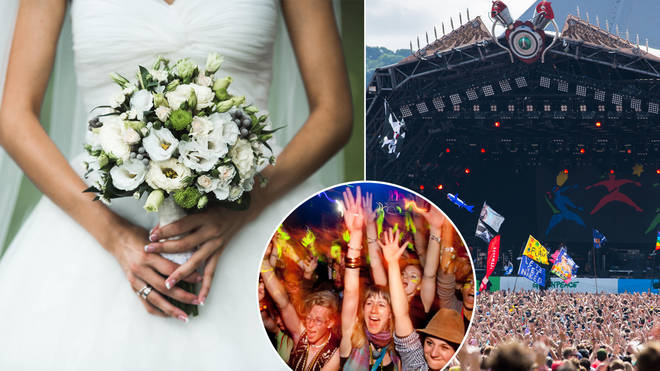 A woman has been branded selfish after saying she'd love to go to Glastonbury