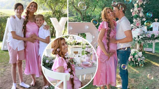Inside Stacey Solomon's extravagant baby shower as she transforms into a Disney Princess