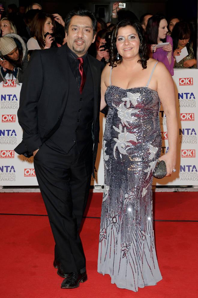 Nina Wadia and Nitin Ganatra starred in EastEnders
