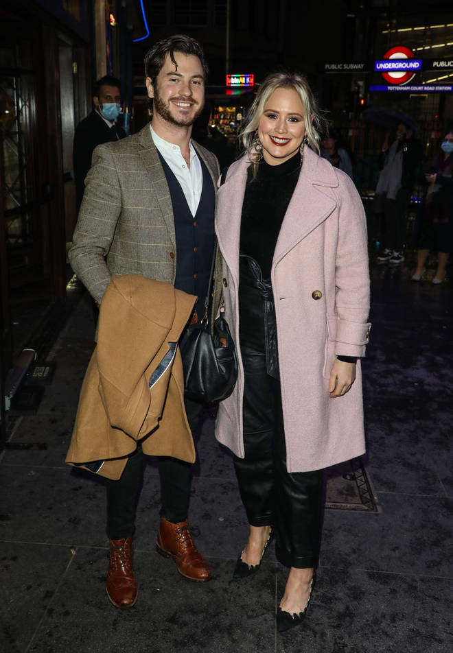 Toby Alexander Smith and Amy Walsh have been dating since 2020