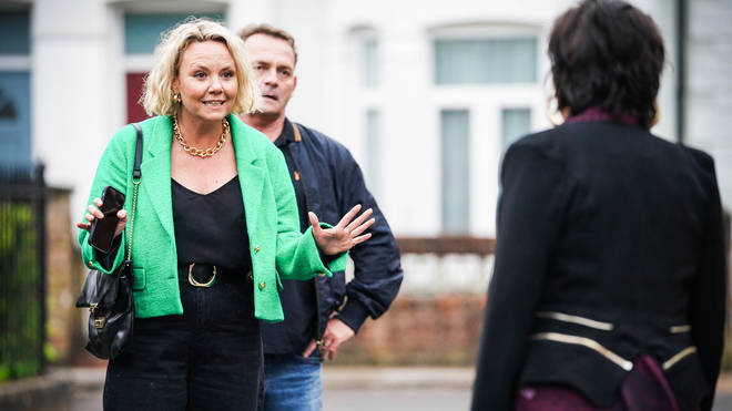 Janine Butcher has made her return to EastEnders