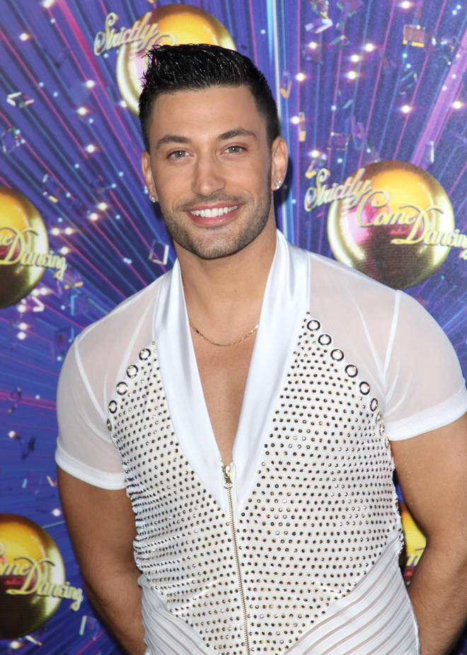 Giovanni is a professional dancer on Strictly