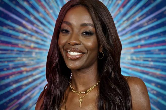 AJ is one of the Strictly 2021 contestants