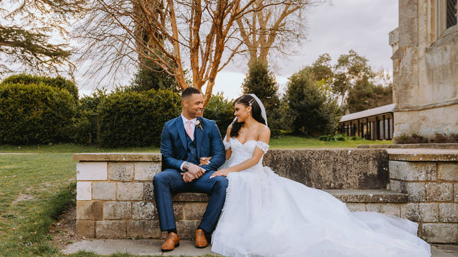 Alexis and Jordon tied the knot on MAFS UK