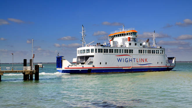 The Wightlink Ferry can get you from Portsmouth to Fishbourne in 22 minutes