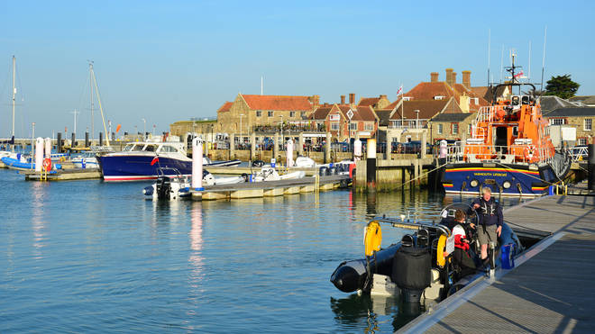 Yarmouth is a beautiful town on the Isle of Wight
