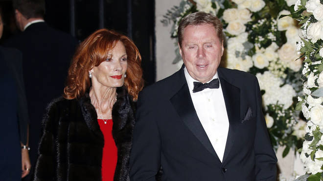 Harry Redknapp and his wife Sandra attend Frank Lampard Jr and Christine Bleakley's wedding