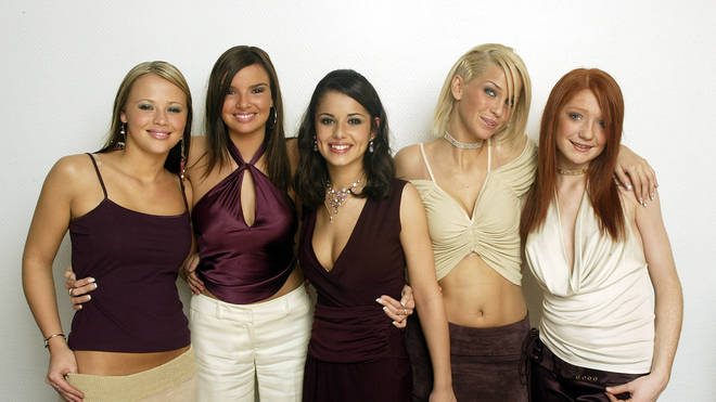 Girls Aloud in 2002