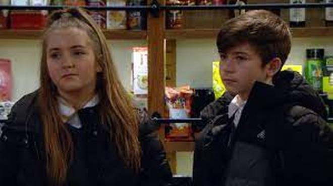 Heath and Cathy Hope debuted in Emmerdale in 2007