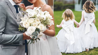 A man has been blasted for not inviting his children to his wedding