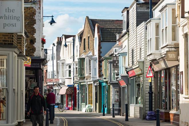 Harbour street has plenty of independent stores