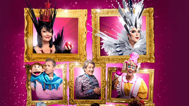 Dawn French stars alongside Julian Clary in Snow White at the London Palladium