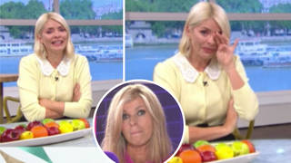 Holly Willoughby was in tears listening to Kate Garraway talk about her husband