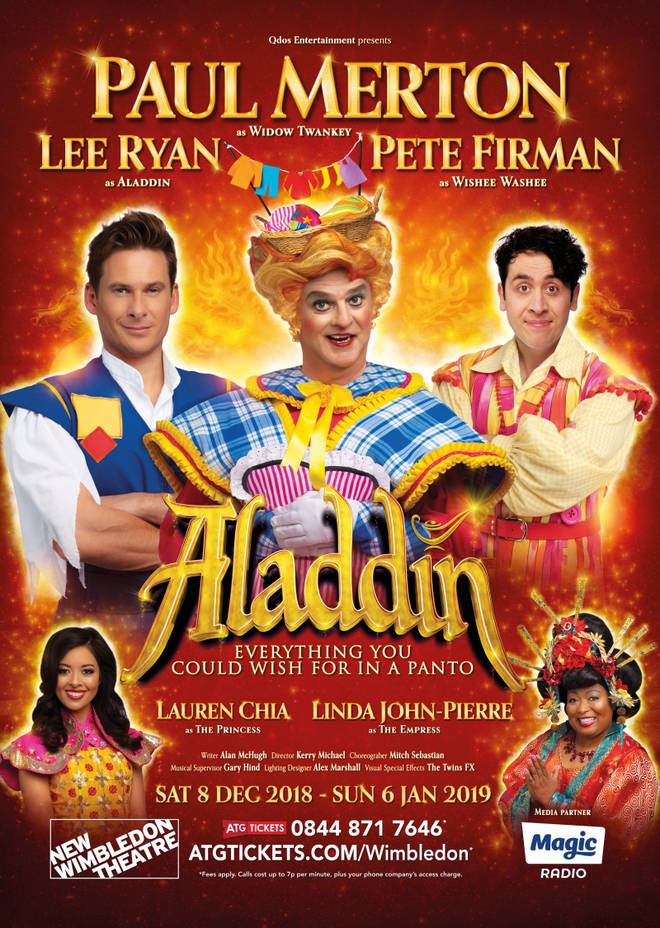 Aladdin at New Wimbledon Theatre, London