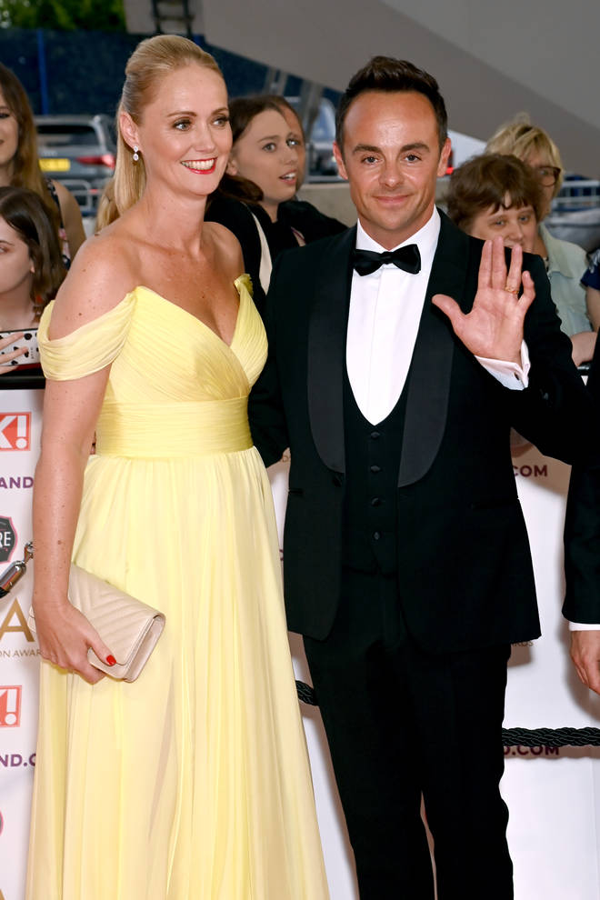 Anne-Marie wore a stunning yellow dress to the event