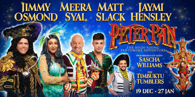 Peter Pan at the Birmingham Hippodrome