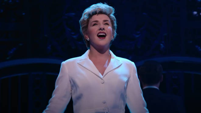 Jeanna de Waal plays Princess Diana in the musical about the late Princess of Wales