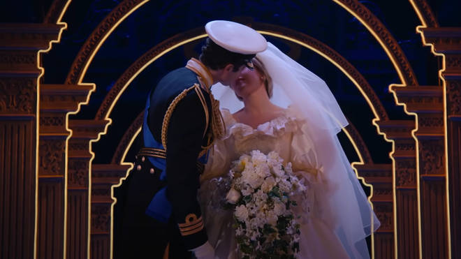 Diana and Charles' wedding is included in the upcoming musical