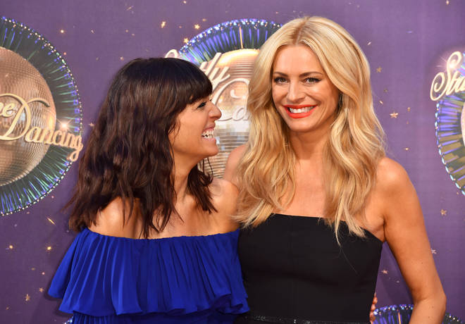 Claudia Winkleman and Tess Daly at the Strictly Come Dancing launch