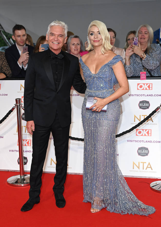 Holly and Phil looked amazing at the NTAs