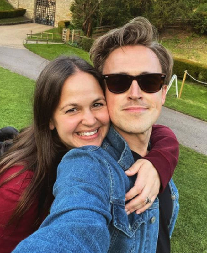 Tom Fletcher and Giovanna share three sons together