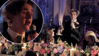 Tom Fletcher sung his wedding speech to Giovanna
