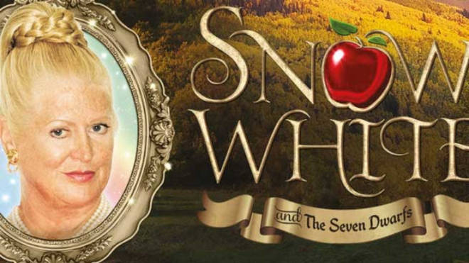 KIM WOODBURN stars in Snow White in Liverpool this year