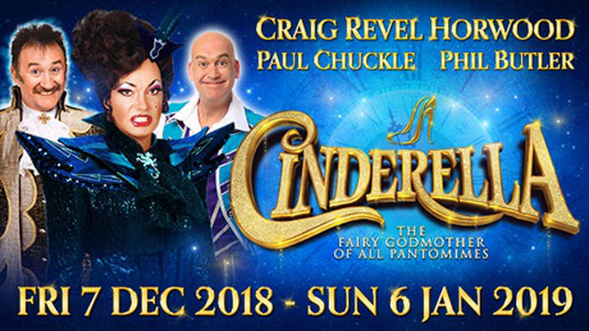 Cinderella at New Victoria Theatre