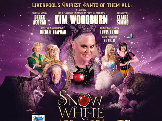 Fancy seeing KIM ACTUAL WOODBURN starring in Snow White this year?