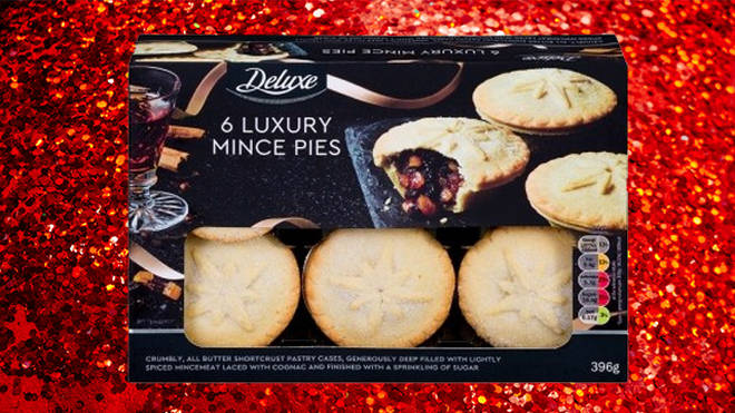 Lidl are offering luxury mince pies this Christmas