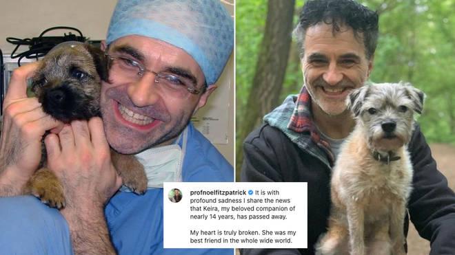 Supervet Noel Fitzpatrick has revealed his dog has died