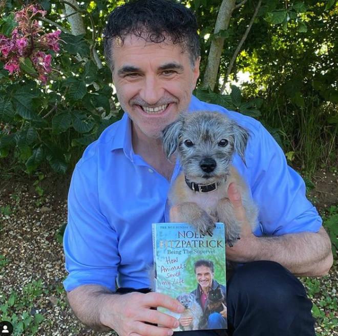 Noel announced his beloved dog had died