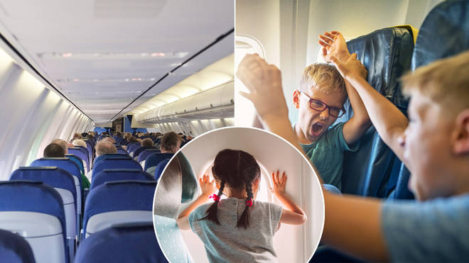 An airline now reveals where children are sitting on an airplane
