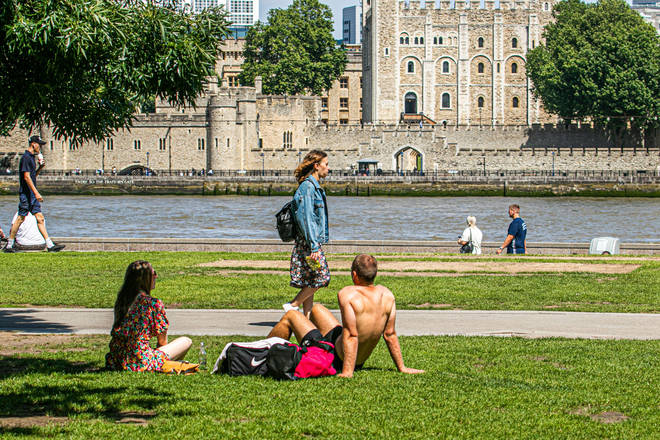 There could be another autumn heatwave this week