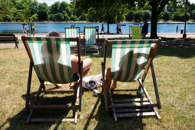 Highs of 25C are expected this week