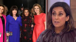 Saira Khan has said she 'tolerated' her Loose Women co-stars