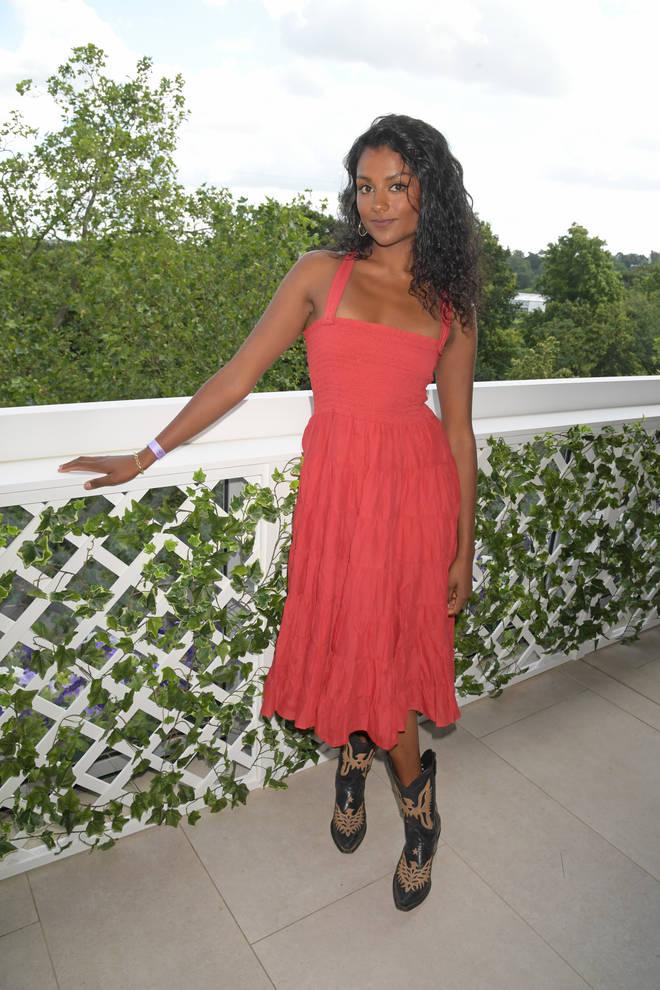 Simone Ashley plays Olivia