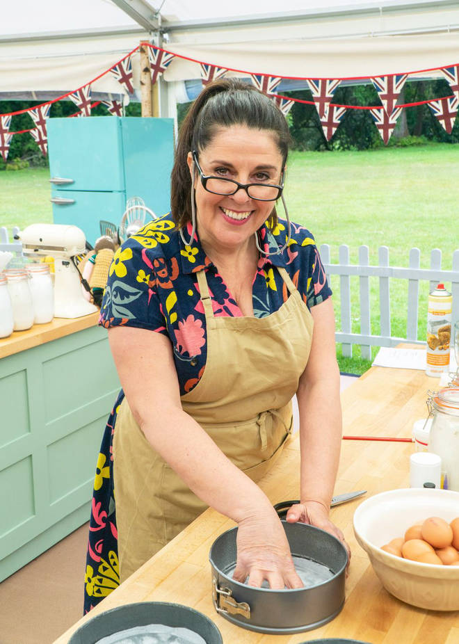Amanda has joined the GBBO line up