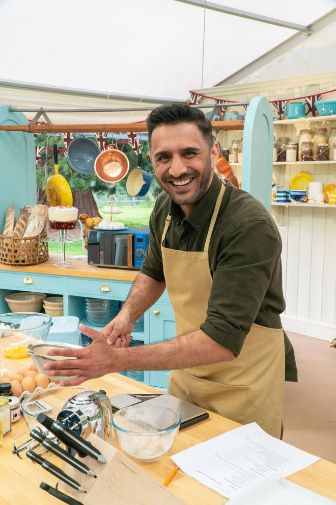 Chirag has joined the GBBO line up