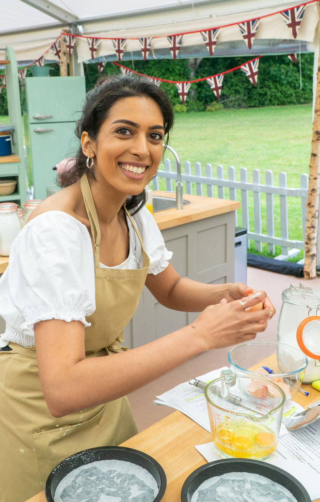 Crystelle has joined the Bake Off line up