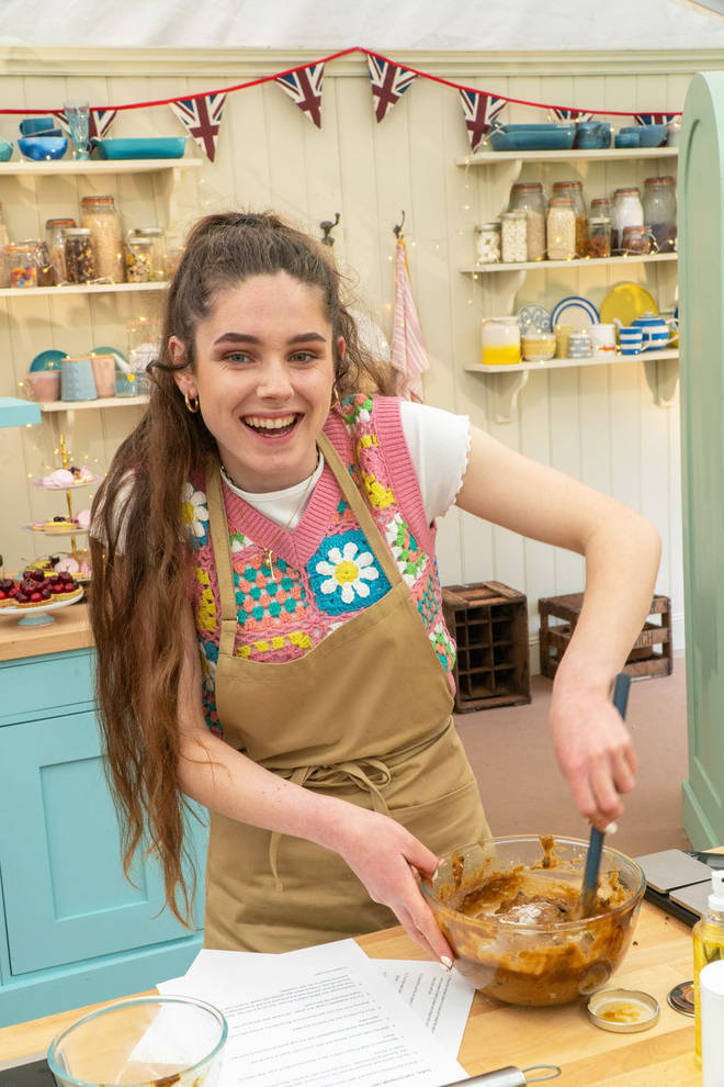 Freya has joined the Bake Off line up
