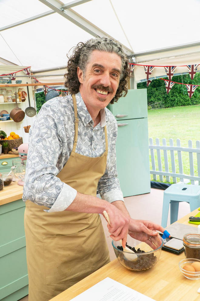 Giuseppe has joined the Bake Off line up