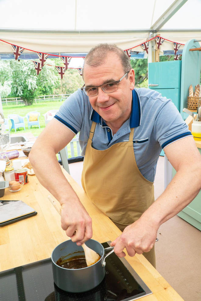 Jürgen has joined the Bake Off line up