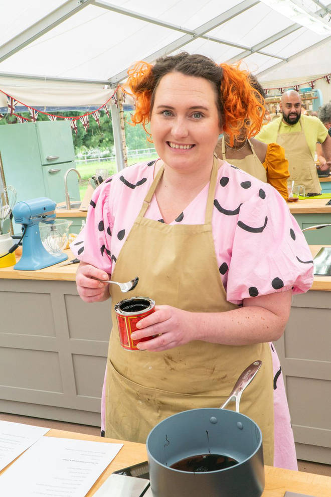 Lizzie has joined the GBBO line up