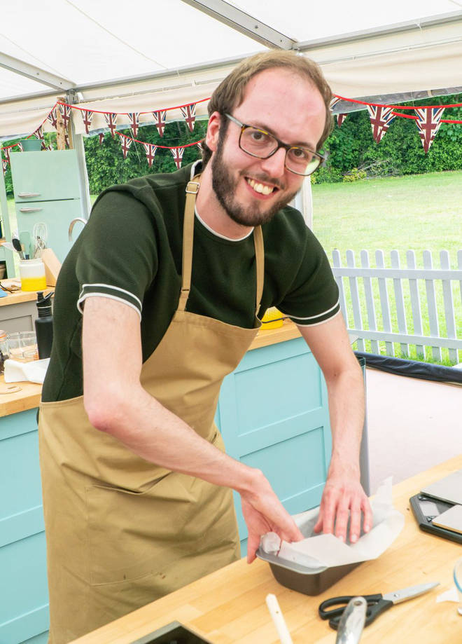 Tom has joined the Bake Off line up
