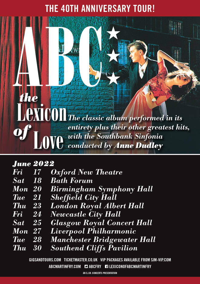 Don't miss your chance to see Lexicon of Love performed in its entirety