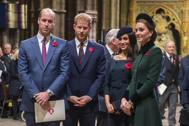 Harry and Meghan are moving away from William and Kate's residence in Kensington Palace
