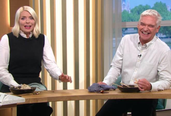 Phillip Schofield found the entire situation very funny