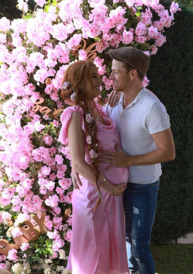 Stacey Solomon and Joe Swash are expecting their second baby